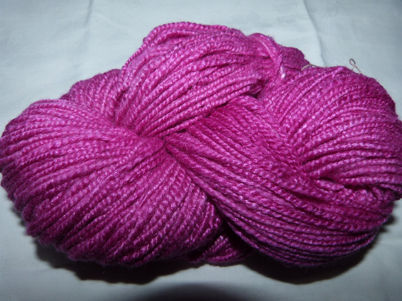 Merino purpur uni dick ca. 100g